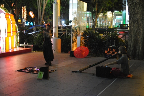 Street Performers Orchard Rd