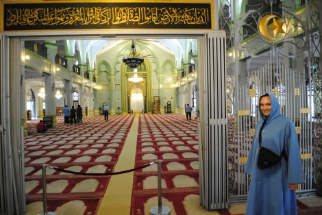 Inside Arab Street's Mosque