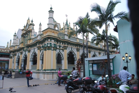 Mosque in Singapore's Little India