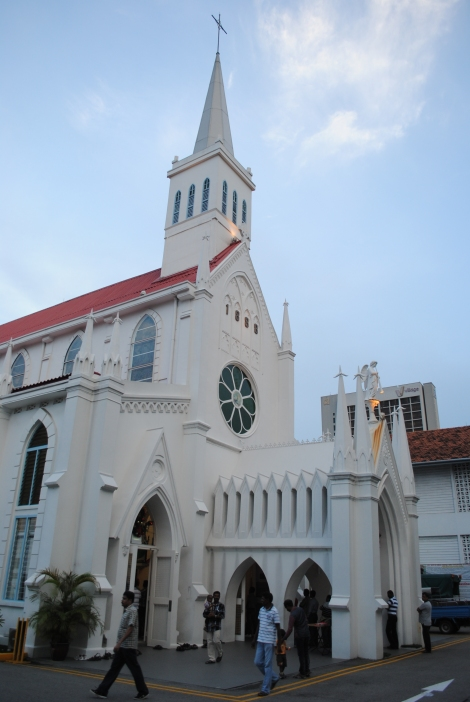 Our Lady Lourdes Church, Singapore