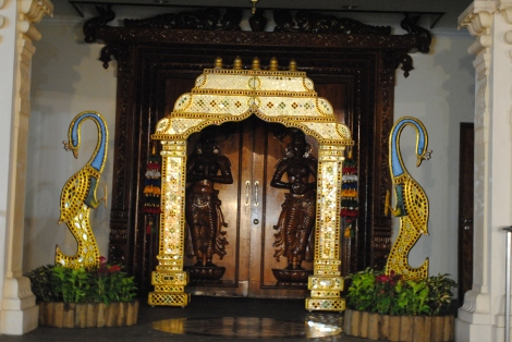 Hindu Temple Doors