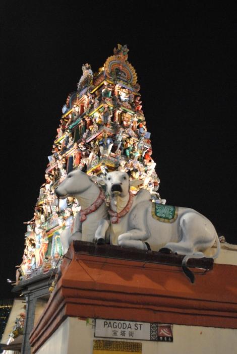 Chinatown's Hindu Temple