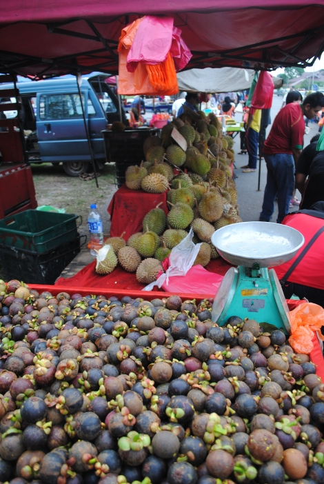 Mangoteens and Durian, Malaysia's famous Stinky Fruit
