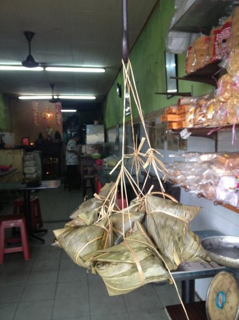 Noyona Dumplings Served in Melaka's Chinatown