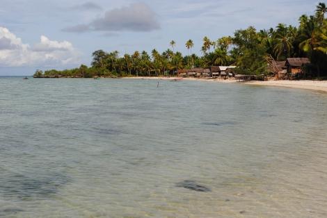 Local Village on Hoga Island