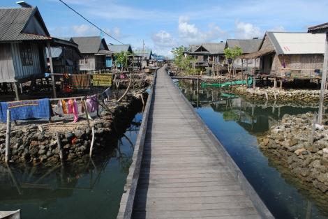 Walkways and Houses of Sampela