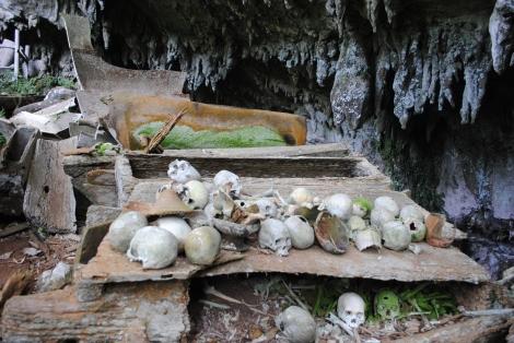 Torajan Burial Site