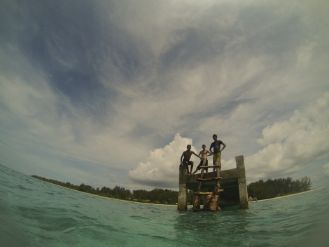 Hoga Island's Jetty