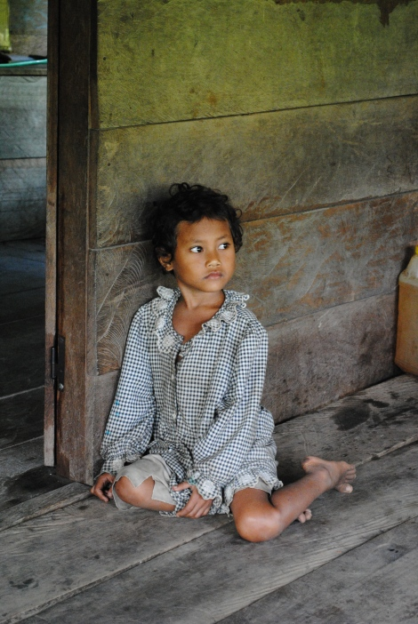 A Young Girl in the Village of Marisa
