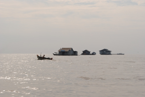 The floating village of Chong Kneas