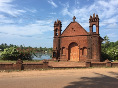 Church near Baga