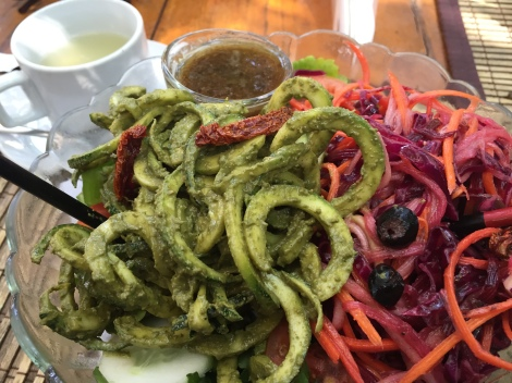 Raw Food at Bean Me Up